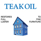 Blue House : Teak Oil Label
