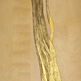 Rachel Alexandra : Horse Hair & Gold Leaf On Birch 30in x 40in